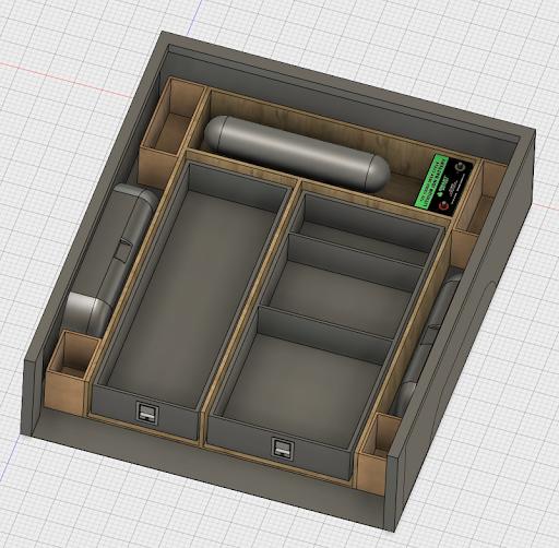 basic truck bed box/drawer design