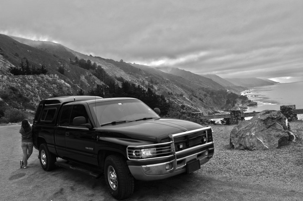 I think I look comically small and the truck looks comically large in the picture, but it did turn out pretty well.